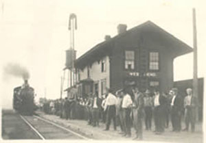 West Bend Train Depot