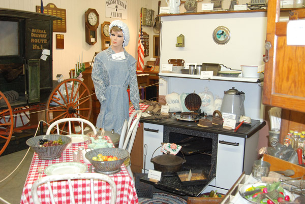 West Bend Historical Museum Kitchen