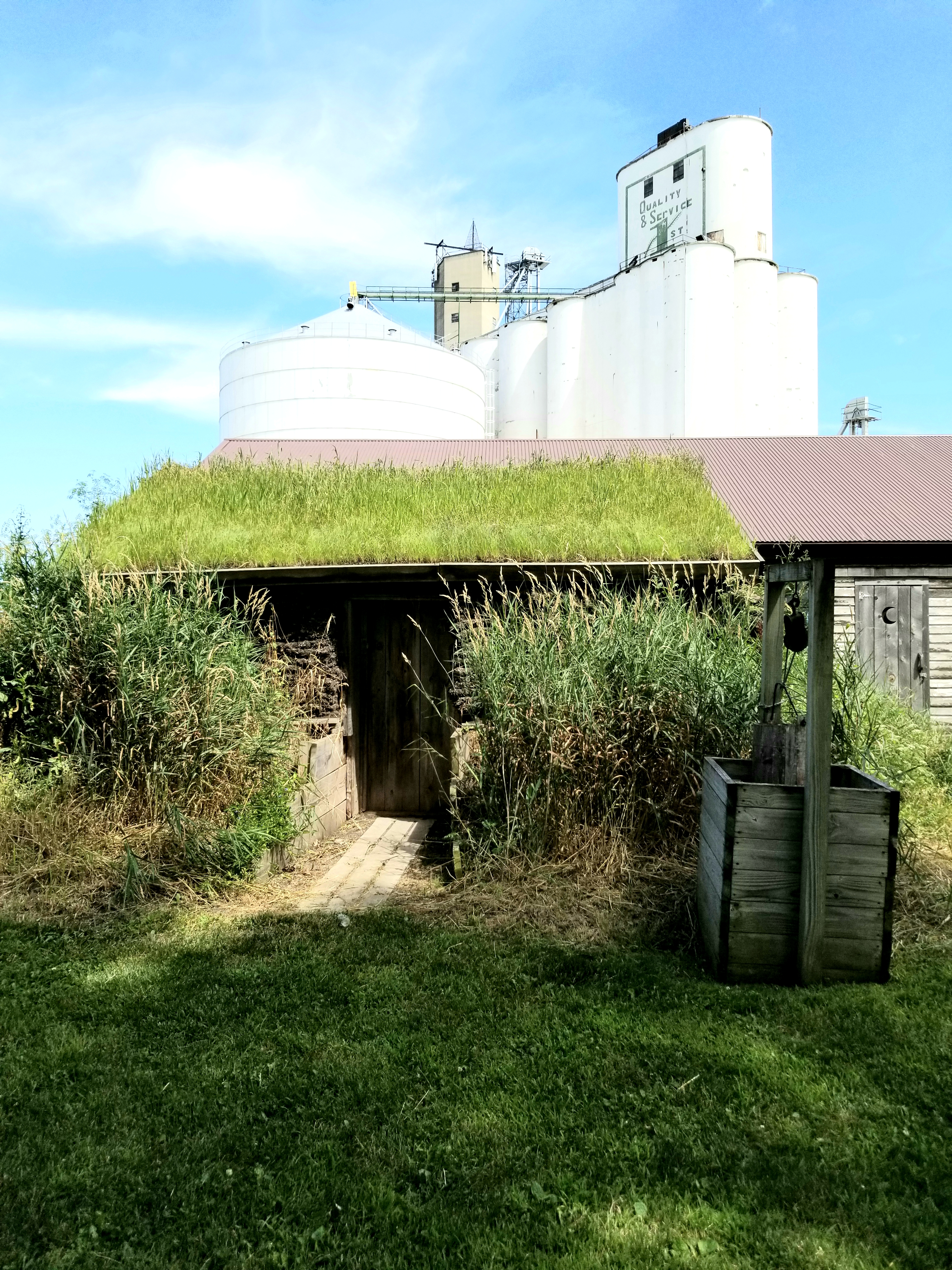 West Bend Sod House