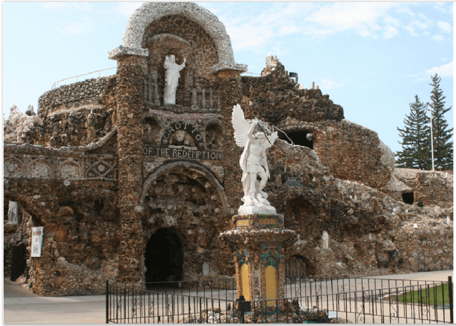 Grotto of the Redemption entrance